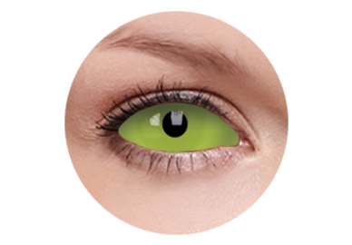 ColorVue Crazy Kontaktlinsen UV 22mm - Spawn (2 St. 6-Monat-Linsen) – ohne Stärke