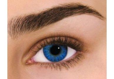 Air Optix Colors - Brilliant Blue (2 St. Monatslinsen) – ohne Stärke