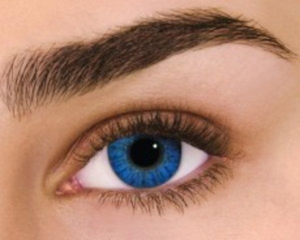 Air Optix Colors - Brilliant Blue (2 St. Monatslinsen) – mit Stärke