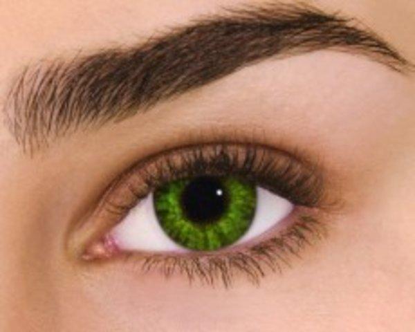 Air Optix Colors - Gremstone Green (2 St. Monatslinsen) – mit Stärke