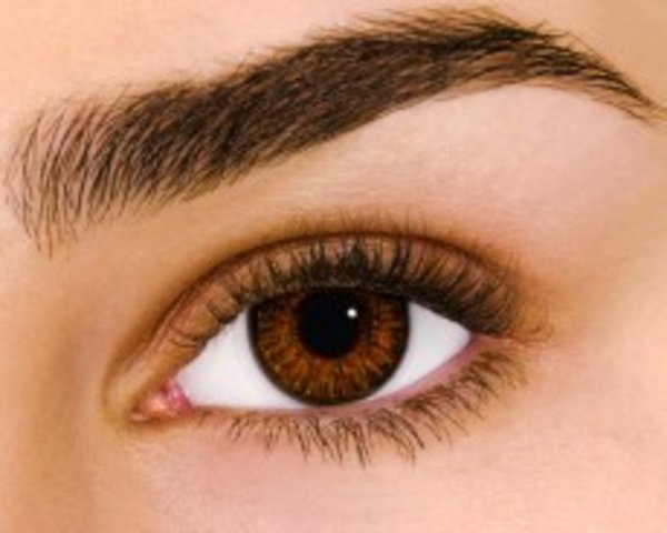 Air Optix Colors - Brown (2 St. Monatslinsen) – mit Stärke