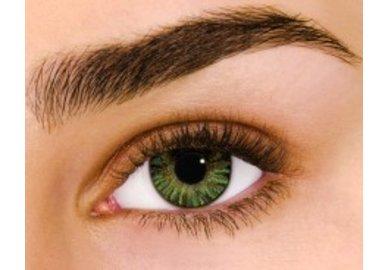 Air Optix Colors - Green (2 St. Monatslinsen) – ohne Stärke