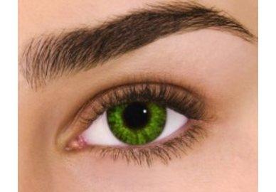 Air Optix Colors - Gremstone Green (2 St. Monatslinsen) – ohne Stärke