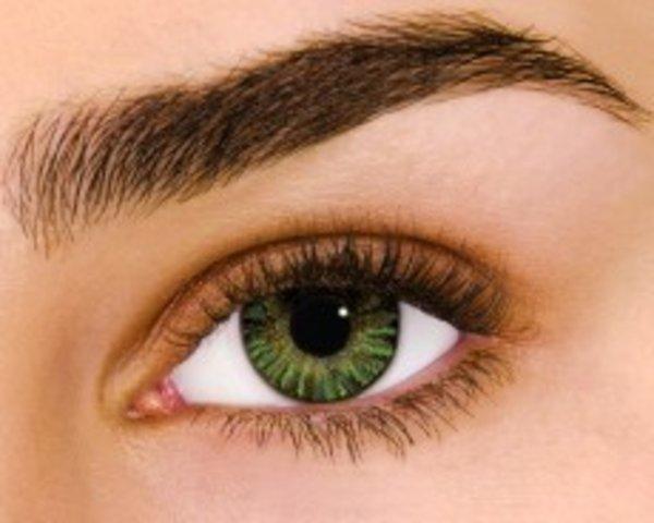 Air Optix Colors - Green (2 St. Monatslinsen) – mit Stärke