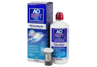 Aosept Plus 360 ml mit HydraGlyde