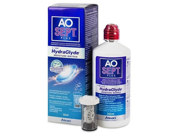 Aosept Plus 360 mlmit HydraGlyde