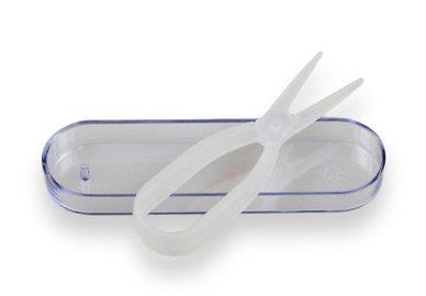 Zangen - Pinzette für Kontaktlinsen - weiß
