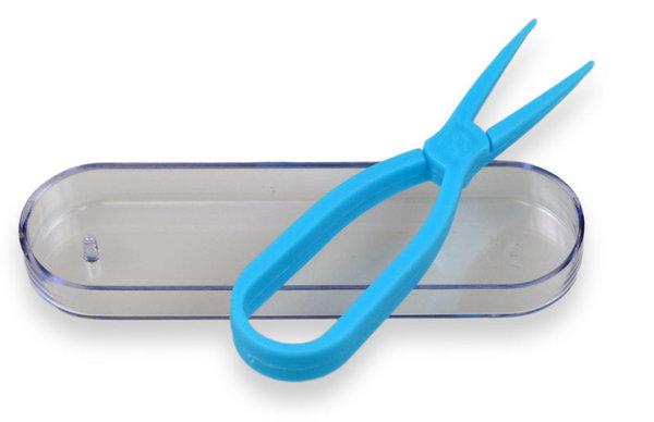 Zangen – Pinzette für Kontaktlinsen  – blau