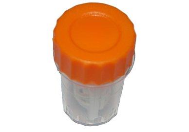 Hoher Behälter - Orange