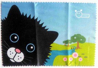 Mikrofaser Brillenputztuch – Katze