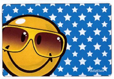 Mikrofaser Brillenputztuch Smiley  – Brille