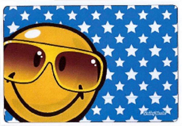 Mikrofaser Brillenputztuch Smiley  – Brille