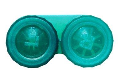 Klassischer Behälter (Ersatzbehälter) einfarbig Dunkelgrün