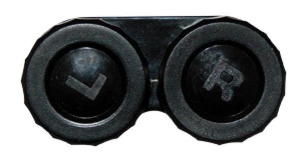 Klassischer Behälter (Ersatzbehälter) einfarbig Schwarz