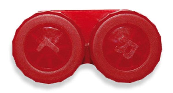 Klassischer Behälter (Ersatzbehälter) einfarbig Rot