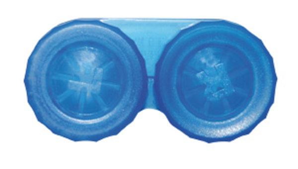 Klassischer Behälter (Ersatzbehälter) einfarbig Blau