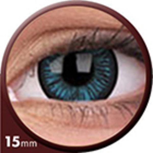 Phantasee Big Eyes - Beautiful Blue (2 St. 3-Monatslinsen) – mit Stärke - Ausverkauf