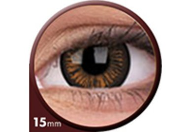 Phantasee Big Eyes - Charming Brown (2 St. 3-Monatslinsen) – mit Stärke