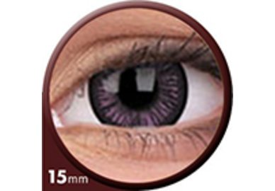 Phantasee Big Eyes - Passionate Purple (2 St. 3-Monatslinsen) – mit Stärke