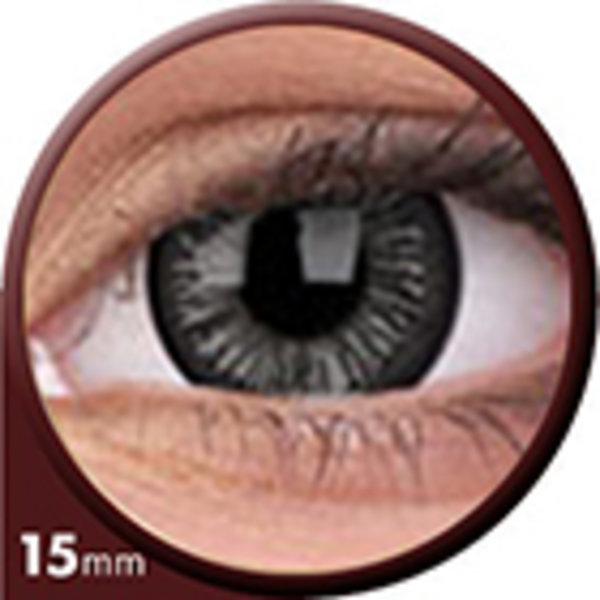Phantasee Big Eyes - Lovely Grey (2 St. 3-Monatslinsen) – mit Stärke