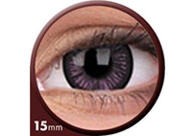Phantasee Big Eyes - Passionate Purple (2 St. 3-Monatslinsen) – ohne Stärke