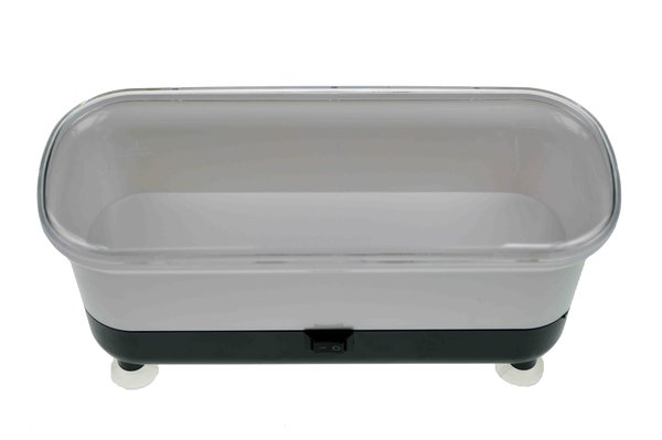 Vibrations - Reinigungsgerät für Brillen – schwarz