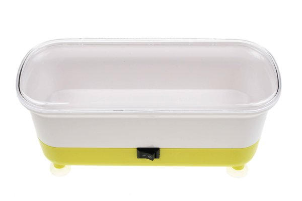 Vibrations - Reinigungsgerät für Brillen – gelb