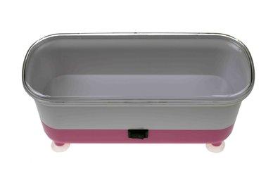 Vibrations - Reinigungsgerät für Brillen – rosa