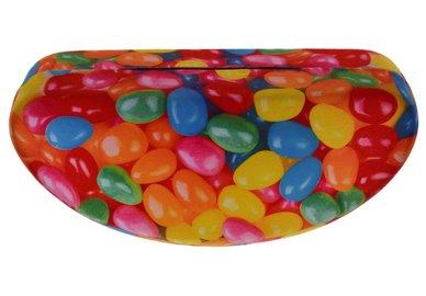Metall Brillenetui groß – Bonbons