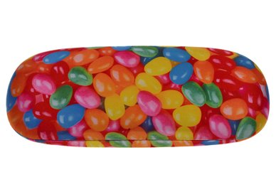 Metall Brillenetui – Bonbons