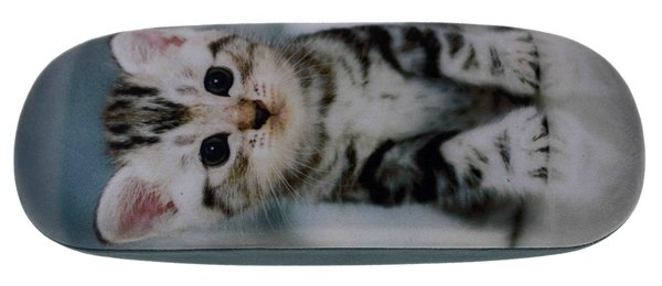 Metall Brillenetui – Kätzchen