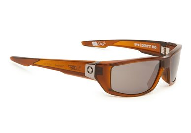 Sonnenbrille SPY DIRTY MO - Brown Ale  - happy polar