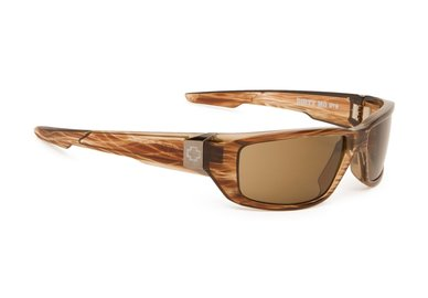 Sonnenbrille SPY DIRTY MO - Brown Strip - polar