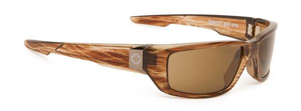 Sonnenbrille SPY DIRTY MO - Brown Strip - polar