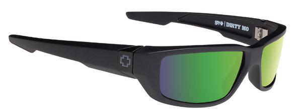 Sonnenbrille SPY DIRTY MO - Matte Black - polar