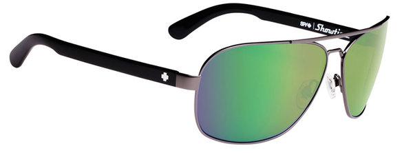 Sonnenbrille SPY SHOWTIME Gunmetal - green