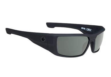 Sonnenbrille SPY DIRK - Soft Matte Black - happy polar