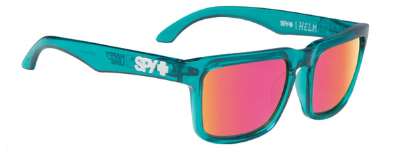 SPY Sonnenbrillen HELM Trans Teal - happy