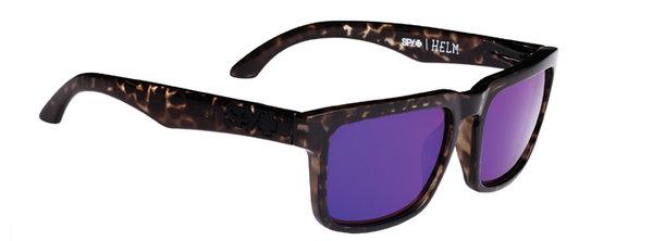 Sonnenbrille SPY HELM Smoke Tort - happy