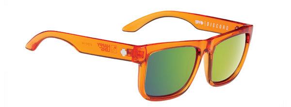 Sonnenbrille SPY DISCORD Trans Orange