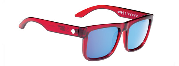 Sonnenbrille SPY DISCORD Trans Red