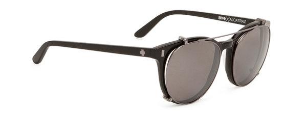 Sonnenbrille SPY ALCATRAZ Black - Polar