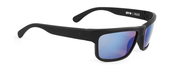 Sonnenbrille SPY FRAZIER Matte Black Blue - Polar