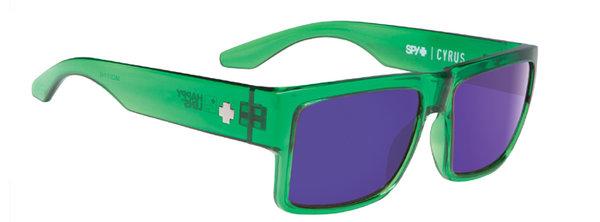 Sonnenbrille SPY Cyrus - Trans Green