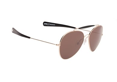 Sonnenbrille SPY PRESIDIO - Gold / Black - happy
