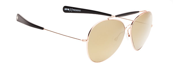 Sonnenbrille SPY PRESIDIO - Rose Gold / Black - happy