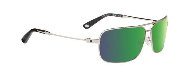 Sonnenbrille SPY Leo GP Silver - Happy bronze / green spectra