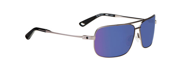 Sonnenbrille SPY Leo Gunmetal - Happy bronze / Blue spectra