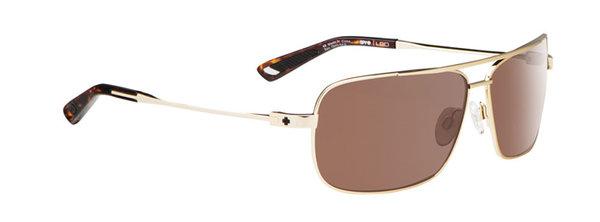 Sonnenbrille SPY Leo Gold - Happy bronze