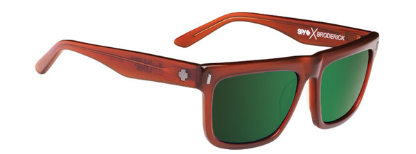 Sonnenbrille SPY BRODERICK - Chestnut -  happy